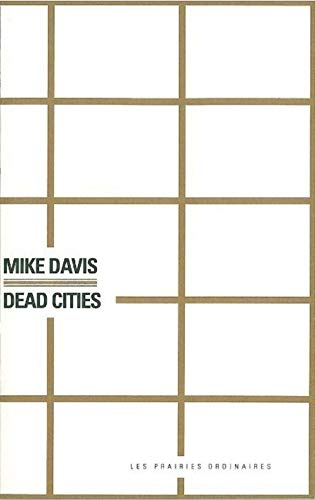 9782350960135: Dead cities (French Edition)