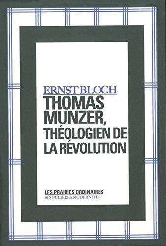 9782350960609: Thomas Münzer, théologien de la révolution