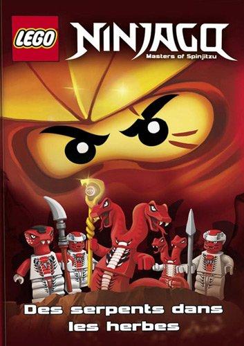 9782351006641: Lego Ninjago : Des serpents dans les fourrés