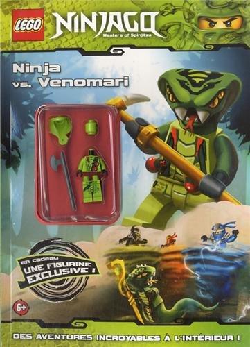 9782351006849: Lego Ninjago : Ninja vs. Venomari