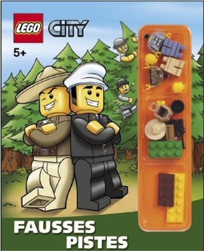 9782351006887: Lego City : Fausses pistes. Avec des lego