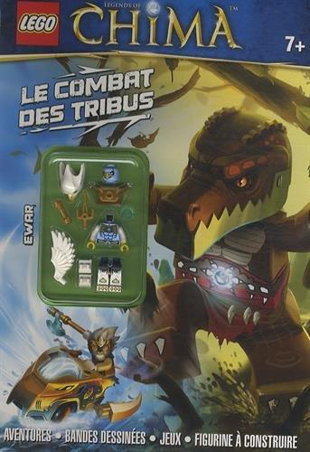 9782351007556: Lego Chima tome 4 le combat des tribus