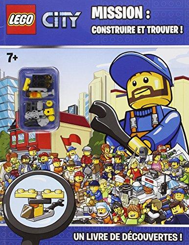 9782351007761: LEGO MISSION CONSTRUIRE ET TROUVER