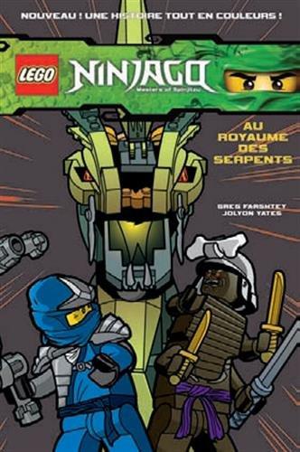 9782351007808: Lego Ninjago Masters of Spinjitzu, Tome 3 : Au royaume des serpents