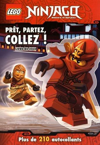 LEGO NINJAGO STICKER BOOK 2 : PRÊT, PARTEZ, COLLEZ: COLLECTIF