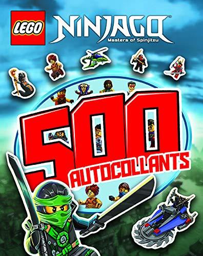 500 AUTOCOLLANTS LEGO NINJAGO: COLLECTIF