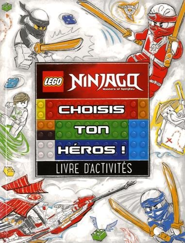 9782351008829: Lego ninjago choisis ton héros !