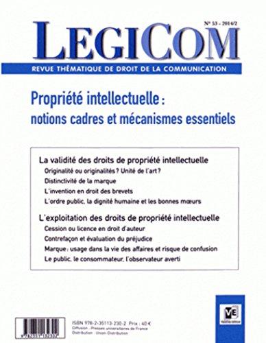 Revue Legicom, no 53: Collectif