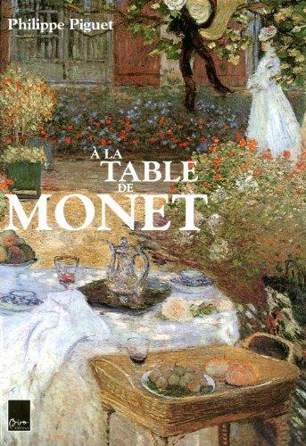 9782351190852: A la table de Monet