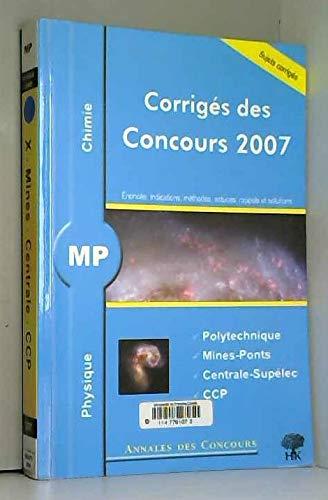 9782351410219: Physique et chimie MP (Annales des concours)
