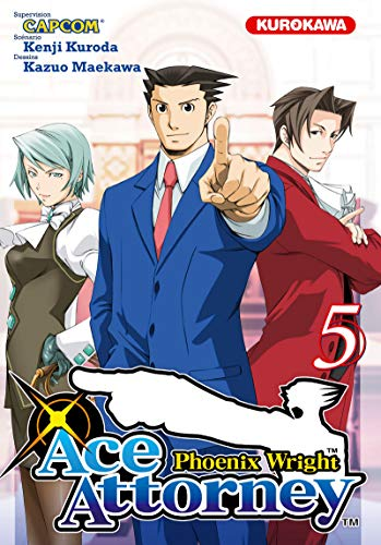 9782351425428: Phoenix wright : ace attorney, Tome 5 :
