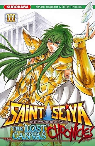 9782351429228: Saint Seiya - Les Chevaliers du Zodiaque - The Lost Canvas - La Légende d'Hadès - Chronicles - tome 03 (3)