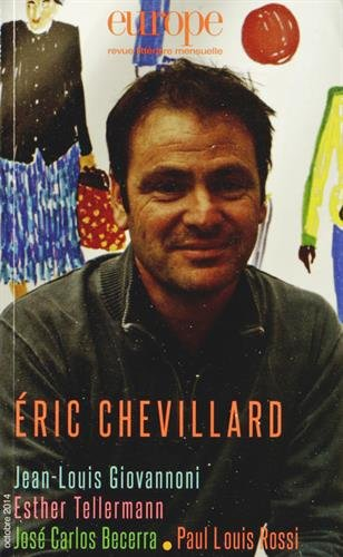 9782351500675: Europe, N° 1026, octobre 2014 : Eric Chevillard