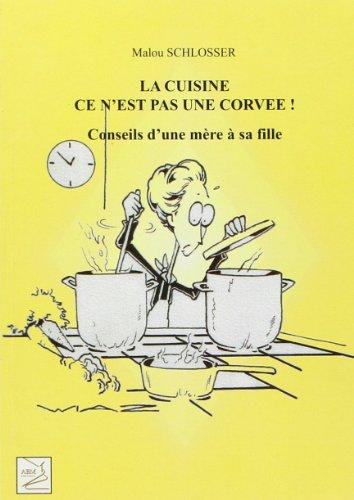 La cuisine ce n'est pas une corvee: Schlosser Malou