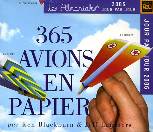 9782351550052: 365 Avions en papier