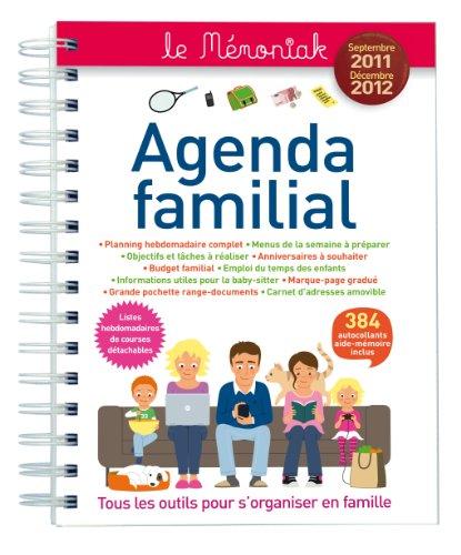 9782351553466: Agenda Familial Memoniak 2012 (French Edition)