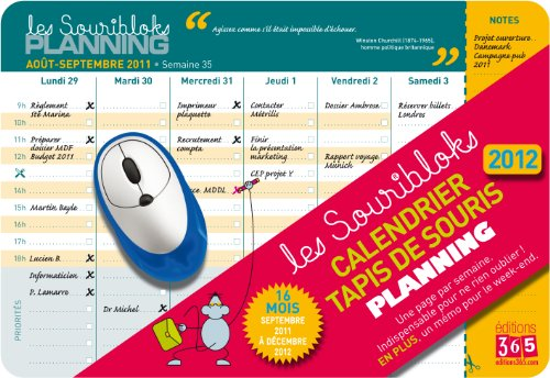 9782351553480: Souriblok planning 2012 (French Edition)