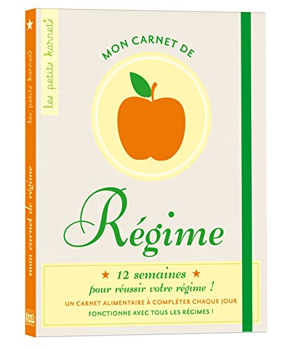 9782351554159: mon carnet de regime - edition 2012