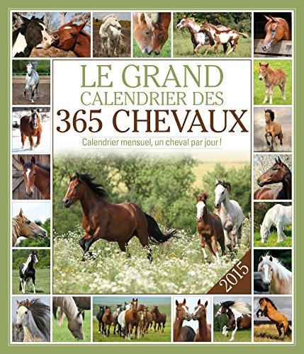 9782351555781: LE GRAND CALENDRIER DES 365 CHEVAUX 2015