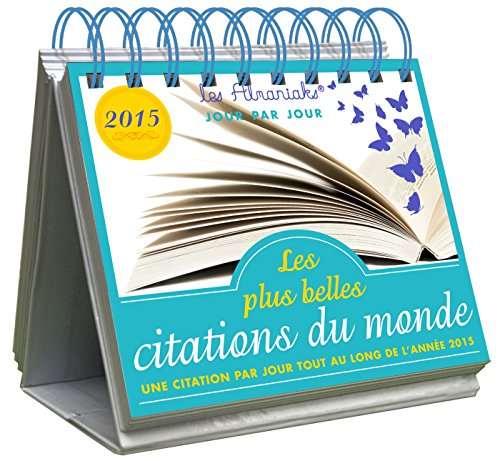 9782351556023: Almaniak Les plus belles citations du monde 2015