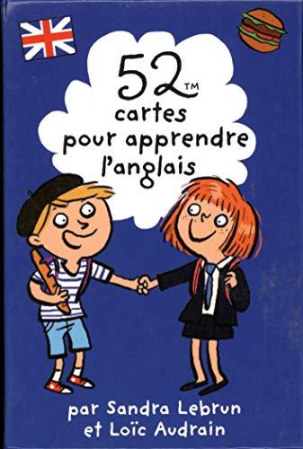 9782351556467: 52 CARTES POUR APPRENDRE L'ANGLAIS
