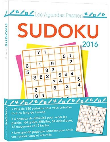 9782351557310: agenda passion Sudoku 2016