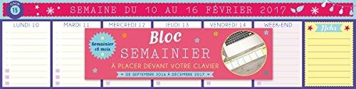 HEBDOMANIAK SEMAINIER BLOC CLAVIER 2016-2017: COLLECTIF