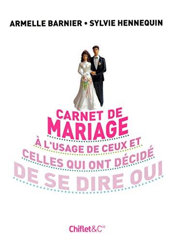 9782351640777: CARNET DE MARIAGE