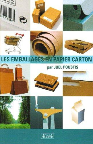 9782351650660: Les emballages en papier carton