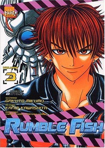Rumble Fish, Tome 3 : Kanji Kawashita; Gakuto
