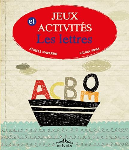 JEUX ACTIVITES LES LETTRES: NAVARRO PRIM