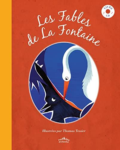 9782351812587: Les Fables de La Fontaine (1CD audio)