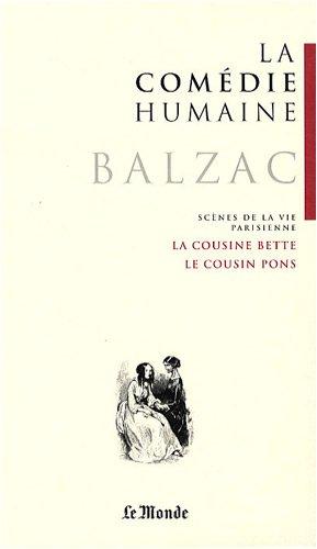 9782351840238: La Comédie humaine, Tome 7 : La cousine Bette ; Le cousin Pons