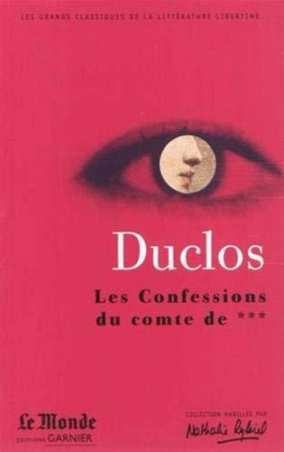 9782351840580: Les confessions du Comte *** et histoire de madame de Luz (French Edition)