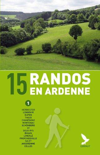 9782351911488: 15 randos en Ardenne (tome 1)