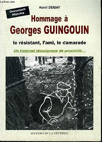 9782351920107: Hommage a Georges Guingouin