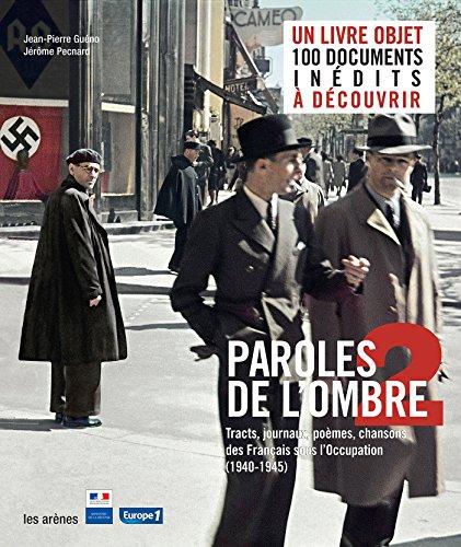 9782352041634: Paroles de l'ombre 2 (French Edition)