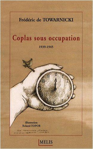 9782352100294: Coplas sous occupation : 1939-1945