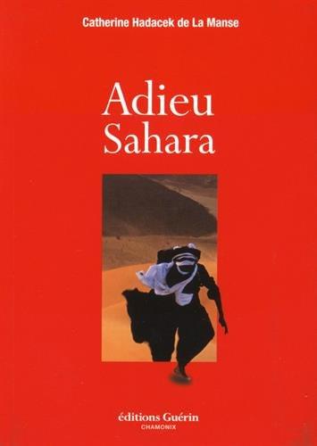 9782352211501: Adieu Sahara