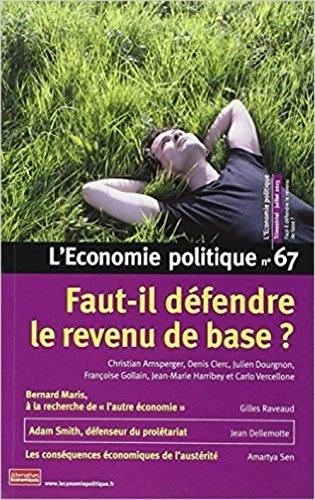 Économie politique (L'), no 67: Collectif