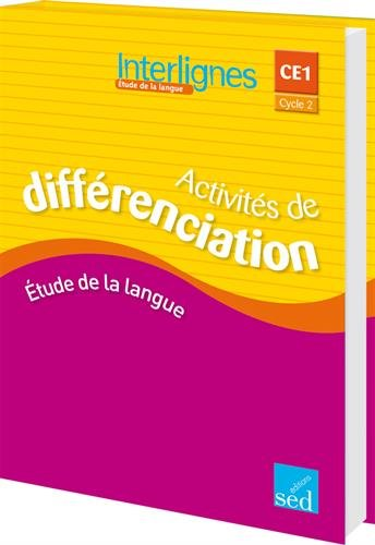 9782352478133: interlignes-classeur activites de differenciation