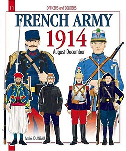 9782352501046: French Army 1914: August - December 1914 (Officers & Soldiers)