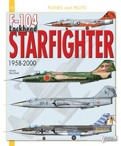 9782352502296: F-104 Lockheed Starfighter: From 1958 to 2000