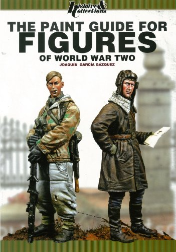 9782352502982: The Paint Guide for Figures of World War Two