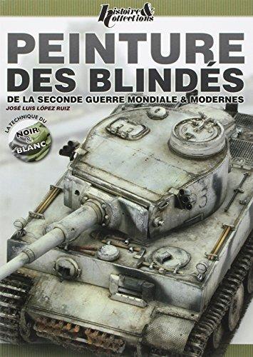 9782352503866: Peinture des blindés de la Seconde Guerre & modernes