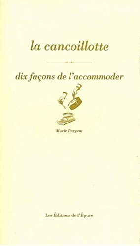 9782352550334: La cancoillotte (French Edition)
