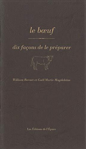 9782352551805: DIX FACONS DE PREPARER; le boeuf