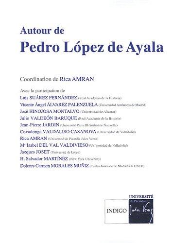 9782352600428: Autour de Pedro Lopez de Ayala