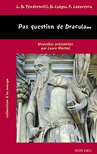 9782352700371: Pas question de Dracula... (French Edition)
