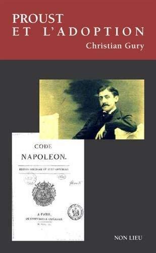 9782352702092: Proust et l'adoption